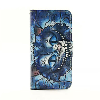 Design Of Coloured Drawing Or Pattern PU Leather Full Body Case with Stand for iTouch 5/iTouch 6
