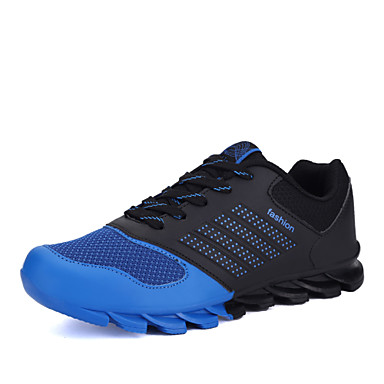 Ανδρικά Παπούτσια Δερματίνη Άνοιξη / Φθινόπωρο Ανατομικό Τρέξιμο Μπλε / Πράσινο / Πορτοκαλί