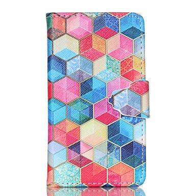 tok Για Samsung Galaxy Samsung Galaxy Θήκη Θήκη καρτών Πορτοφόλι με βάση στήριξης Ανοιγόμενη Πλήρης Θήκη Γεωμετρικά σχήματα PU δέρμα για