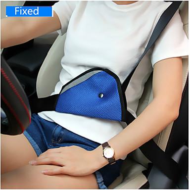 dispositivo fixo automóvel triângulo cinto de segurança para crianças cinto de segurança as crianças do interior do carro regulador