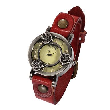 Dames Modieus horloge Kwarts Leer Band