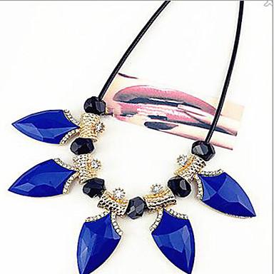 Dames Modieus Verklaring Kettingen Legering Verklaring Kettingen Kostuum juwelen