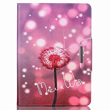 hoesje Voor iPad Air 2 Kaarthouder met standaard Patroon Volledig hoesje Paardebloem PU-nahka voor iPad Air 2