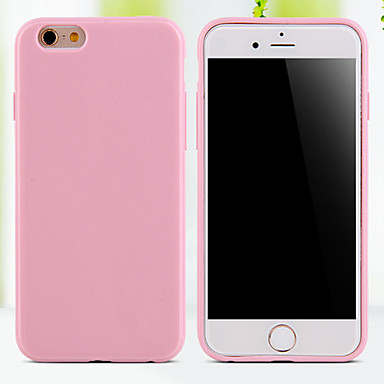 Case For iPhone 5 Apple iPhone 5 Case Other Back Cover Solid Color Soft TPU for iPhone SE/5s iPhone 5