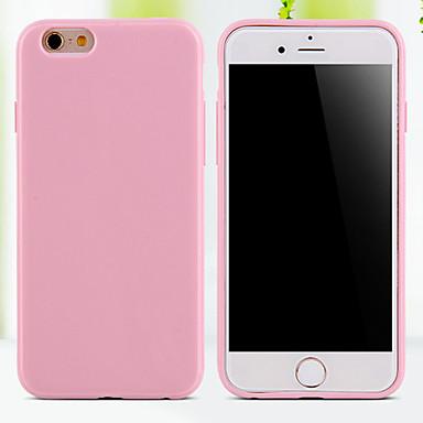Case Kompatibilitás iPhone 5 / Apple iPhone 5 tok Fekete tok Egyszínű Puha TPU mert iPhone SE / 5s / iPhone 5
