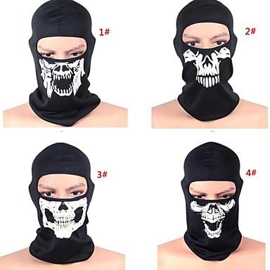 Face Mask Winter Houd Warm Winddicht Stofbestendig Ademend Recreatiesport Fietsen / Fietsen Heren Dames Gaas Doodskoppen