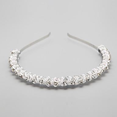 Bruiloft / Feest - Haarbanden ( Kristal / Legering / Imitatieparel / Strass , Zoals Op De Afbeelding )