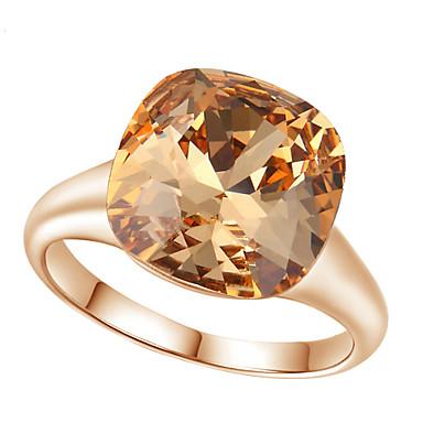 Γυναικεία Κράμα Δακτύλιος Δήλωσης - Μοντέρνα Χρυσαφί Δαχτυλίδι Για Γάμου / Πάρτι / Αρραβώνας