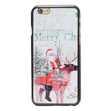 Για Θήκη iPhone 6 / Θήκη iPhone 6 Plus Με σχέδια tok Πίσω Κάλυμμα tok Χριστούγεννα Σκληρή PC iPhone 6s Plus/6 Plus / iPhone 6s/6