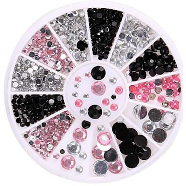 1 Κοσμήματα νυχιών Glitter & Poudre Κλασσικό Lovely Πανκ Καθημερινά Κλασσικό Lovely Πανκ Υψηλή ποιότητα