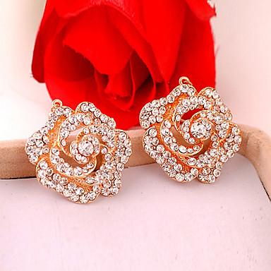 Γυναικεία Κρεμαστά Σκουλαρίκια Κράμα Κοσμήματα Χρυσαφί Γάμου Πάρτι Καθημερινά Causal Κοστούμια Κοσμήματα