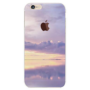 Capinha Para Apple iPhone 6 iPhone 6 Plus Estampada Capa traseira céu Cenário Macia TPU para iPhone 6s Plus iPhone 6s iPhone 6 Plus
