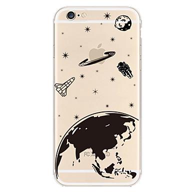 aarde patroon TPU materiaal telefoon Case voor iPhone 6 plus / 6s plus