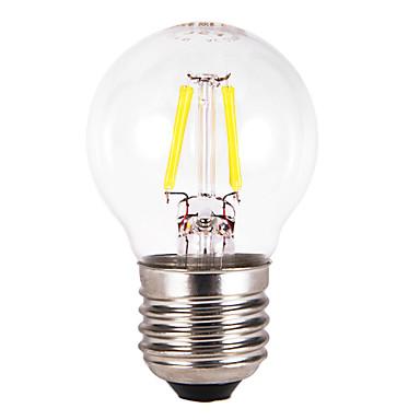 E26/E27 Lâmpada Redonda LED G60 4 COB 300-350 lm Branco Quente 3000 K AC 220-240 V