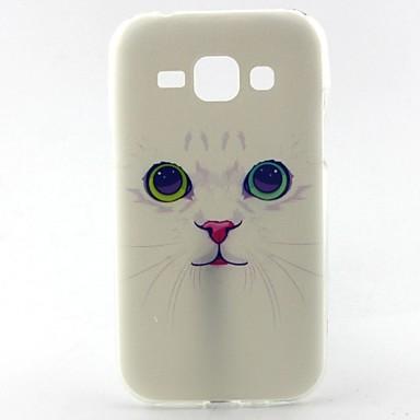 Voor Samsung Galaxy hoesje Patroon hoesje Achterkantje hoesje Kat TPU Samsung J1
