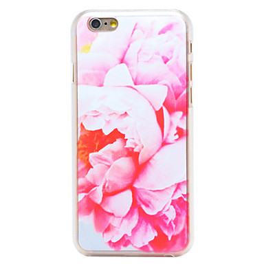 Para Capinha iPhone 6 / Capinha iPhone 6 Plus Estampada Capinha Capa Traseira Capinha Flor Rígida PC iPhone 6s Plus/6 Plus / iPhone 6s/6
