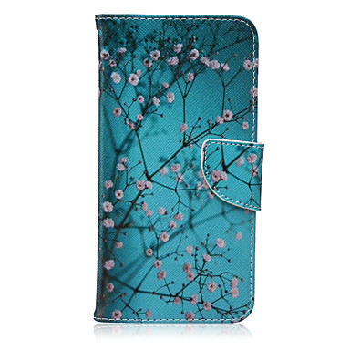 takken patroon pu leer materiaal flip-kaart telefoon Case voor iPhone 6 plus / 6s plus