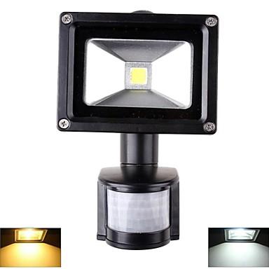 1000lm Focos de LED 1 Contas LED LED de Alta Potência Sensor Branco Quente / Branco Frio 85-265V
