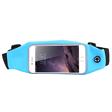 Sports Jogging Waist Case Belt Running Bag for iPhone 6 Plus/6S Plus and Other Phones Below 5.5 Inch(Assorted Colors)