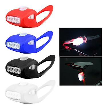 Luzes de Bicicleta Luz Frontal para Bicicleta LED - Ciclismo Resistente ao Impacto Fácil de Transportar Atenção Luz LED AAA 800 Lumens