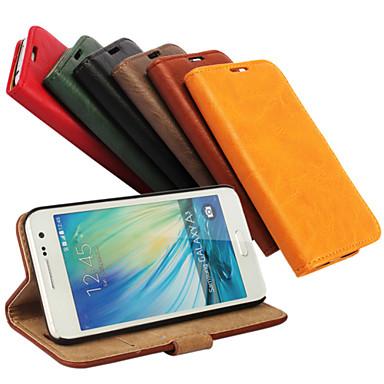 Capinha Para Samsung Galaxy Samsung Galaxy Capinhas Porta-Cartão Com Suporte Flip Magnética Capa Proteção Completa Côr Sólida PU Leather