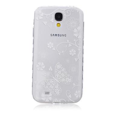 Voor Samsung Galaxy hoesje Transparant / Patroon hoesje Achterkantje hoesje Vlinder TPU SamsungS6 edge plus / S6 edge / S6 / S5 Mini / S5