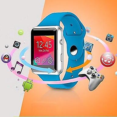 levne Pánské-BSW V08 nositelná chytré hodinky, hands-free volání / media ovládání ovládání / kamera / vodotěsný pro android&ios