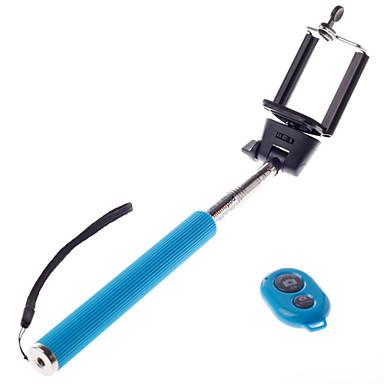 draadloze bluetooth zelfportret monopod verstelbare stok pole voor iPhone andriod mobie telefoons met afstandsbediening