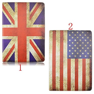 7.9 polegadas padrão de bandeira de alta qualidade de 360 graus de rotação estojo de couro pu para iPad mini 4 (cores sortidas)