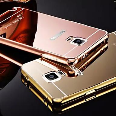Mert Samsung Galaxy Note Galvanizálás / Tükör Case Hátlap Case Egyszínű Fém Samsung Note 5 / Note 4 / Note 3