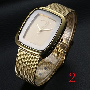 hot prodej nerezové oceli ležérní stříbrné hodinky šaty hodinky dámské pánské  hodinky značky elektroniky slavnou bf432c685cf