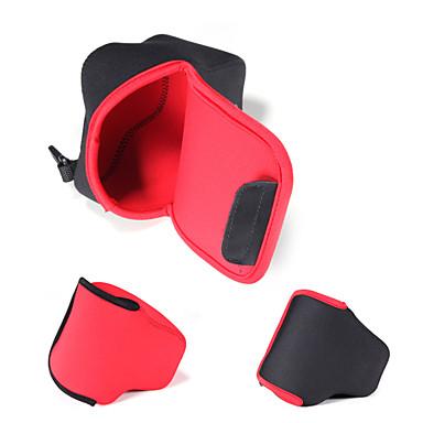 neoprene dengpin® câmera macia bolsa de protecção saco caso para Canon EOS m3 com 18-55mm (cores sortidas)