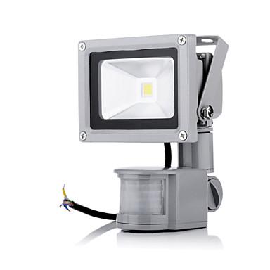 1PC 10 W 2800-6500 lm 1 الخرز LED طاقة عالية LED جهاز استشعار أبيض دافئ / أبيض كول 85-265 V