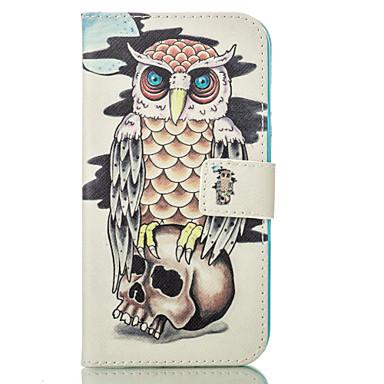 제품 아이폰6케이스 아이폰6플러스 케이스 케이스 커버 지갑 카드 홀더 스탠드 풀 바디 케이스 부엉이 하드 인조 가죽 용 AppleiPhone 6s Plus iPhone 6 Plus iPhone 6s 아이폰 6 iPhone SE/5s iPhone