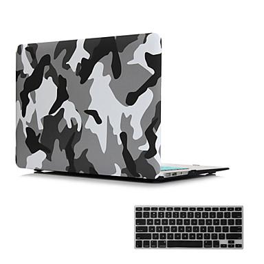 2 in 1 mat oppervlak kristal met rubber harde geval dekking voor de MacBook Air 11