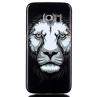 Para Samsung Galaxy Capinhas Case Tampa Estampada Capa Traseira Capinha Animal PUT para Samsung Galaxy S6 edge plus S6 edge S6 S5
