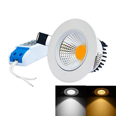 geleid ingebouwde lichten 1 integreer led 0 ~ 450lm warm wit koud wit 6000-6500k / 3000-3200k dimbaar ac 85-265v