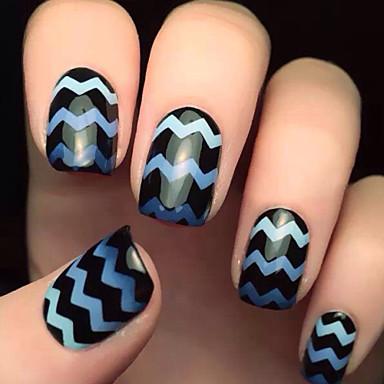 5x82pcs tamanhos diferentes tomada profissional ferramenta padrão nail art