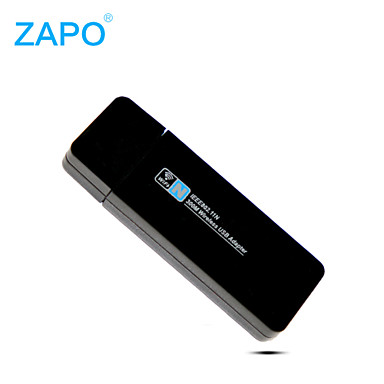 Zapo W66 300m router adaptador transmissor da rede mini-USB WiFi placa de rede wireless
