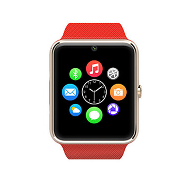 Relógio inteligente Tela de toque Pedômetros Monitor de Sono Temporizador Relogio Despertador 2G Bluetooth 3.0 Cartão SIM
