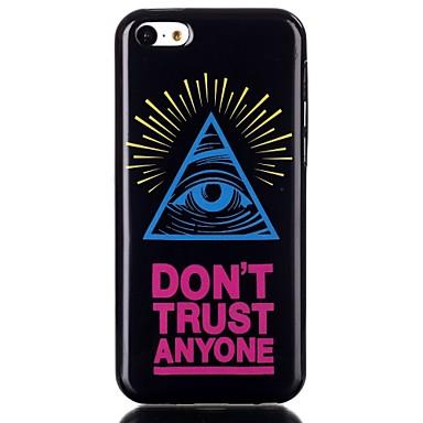 Para Case Tampa Capa Traseira Capinha Macia PUT para iPhone 5c