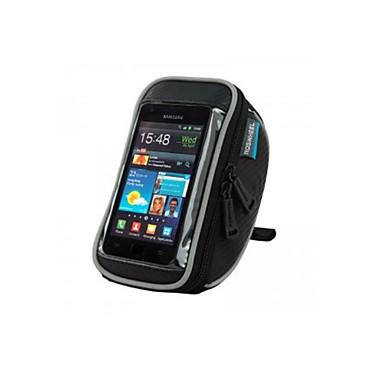 ROSWHEEL Fietsstuurtas Mobiele telefoon tasje 4.8 duim waterdicht Draagbaar Telefoon/Iphone Aanraakscherm Wielrennen voor Samsung Galaxy