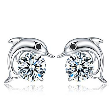 Dames Oorknopjes Kostuum juwelen Sterling zilver Sieraden Voor Bruiloft Feest Dagelijks