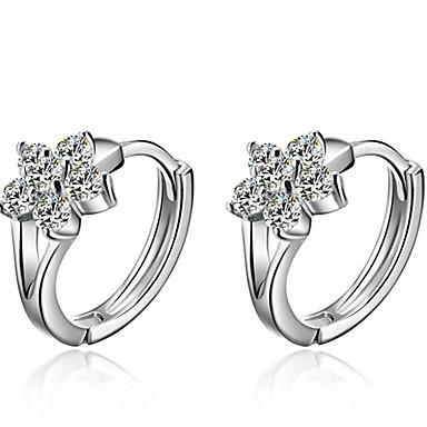 Dames Oorknopjes Modieus Sterling zilver Zilver Sneeuwvlok Sieraden Bruiloft Feest Dagelijks