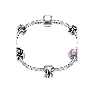 Pentru femei Brățări cu Lanț & Legături Bijuterii DIY Argilă Circle Shape Bowknot Shape Floare Bijuterii Cadouri de Crăciun Nuntă