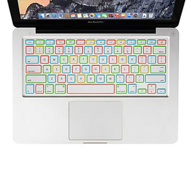 XSKN noite silicone luminoso tampa do teclado para laptop MacBook Air 13, MacBook Pro com retina 13 15 17