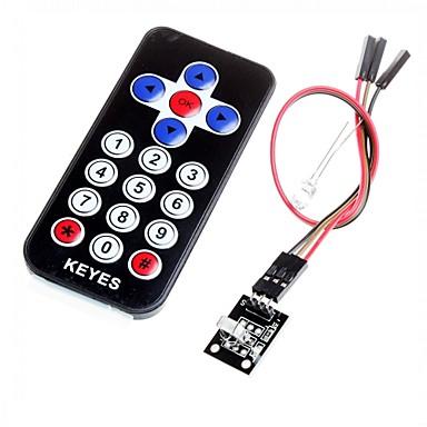 hx1838 infrarood afstandsbediening module code infrarood afstandsbediening voor Arduino