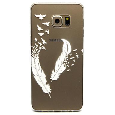 tok Για Samsung Galaxy Samsung Galaxy Θήκη Διαφανής Πίσω Κάλυμμα Φτερά TPU για S6 edge plus S6 edge S6 S5 Mini S5