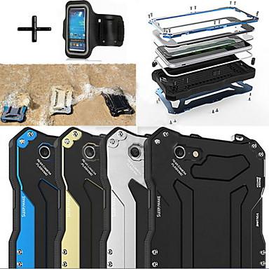 R-net Gundam 100% waterdicht metalen aluminium gorilla glazen kast + sportarmband voor iphone6 plus