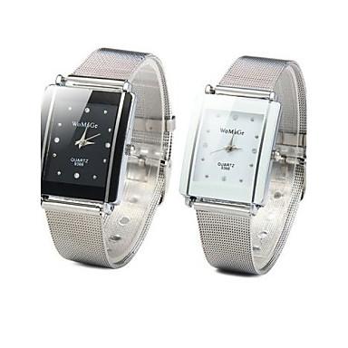 Dames Modieus horloge Kwarts Vrijetijdshorloge Legering Band Zilver
